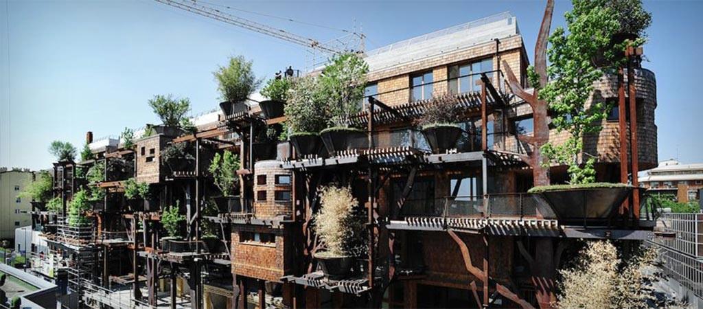 25 Verde Treehouse Apartment Building