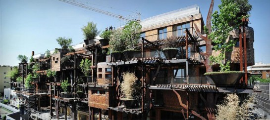 25 VERDE | TREEHOUSE APARTMENT BUILDING IN ITALY