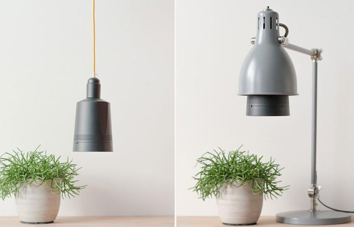 Beam smart projector in a light socket