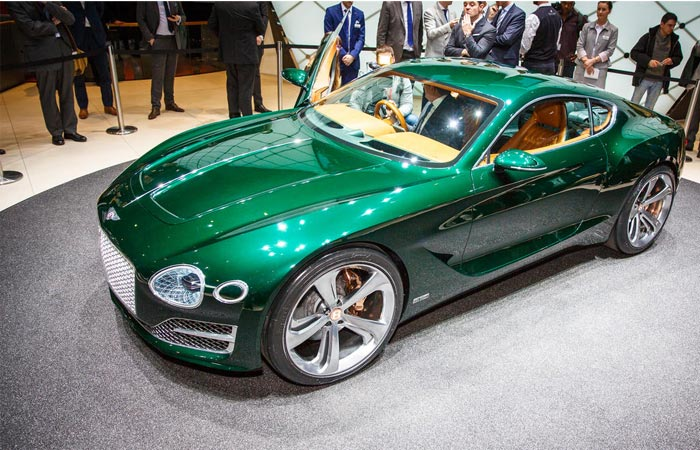 Front view of the Bentley EXP 10 Speed 6