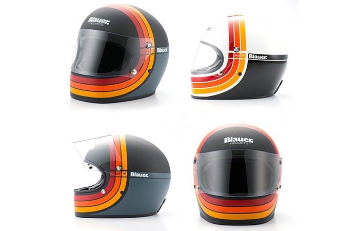 Carbon Fiber Motorcycle Helmets >> BLAUER 80S RETRO MOTORCYCLE HELMET