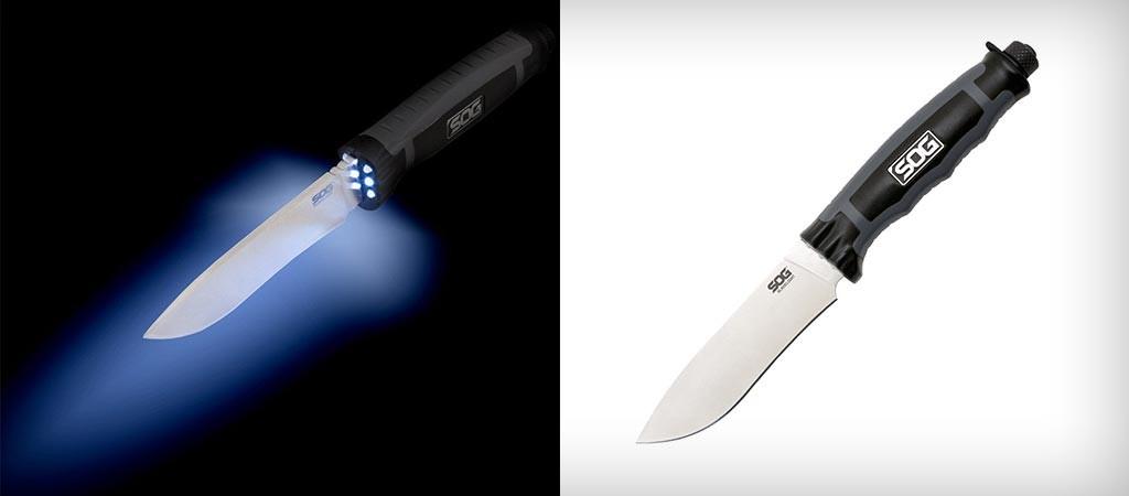 BLT21K-CP BladeLight Camp LED Fixed Knife