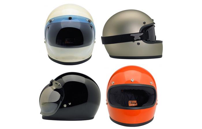 Biltwell Gringo retro motorcycle helmet