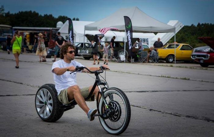 Chop-E electric mini bike