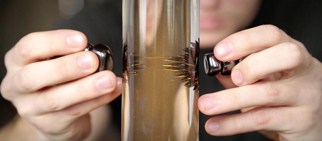Ferrofluid Lamp