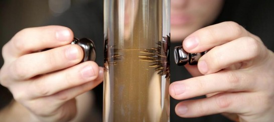 Ferrofluid Lamp