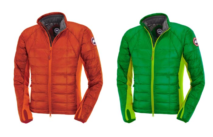 Color variants of the Hybridge Lite Jacket