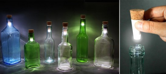 LED BOTTLE LIGHTS | BY SUCK UK