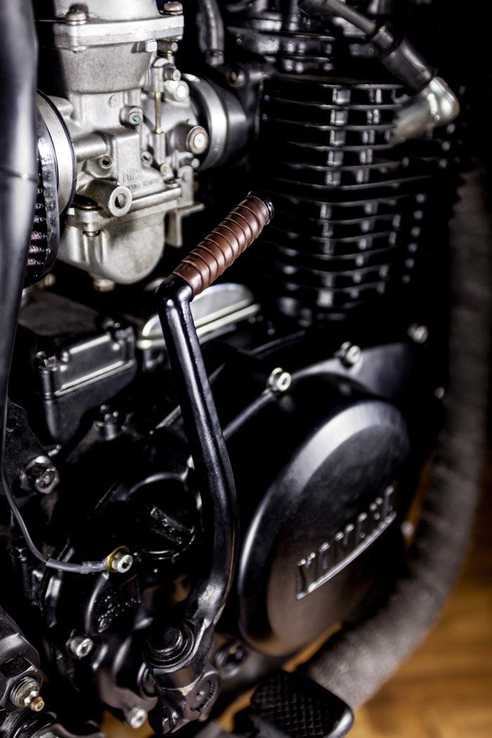 Brown  Up Yamaha Xs Seat