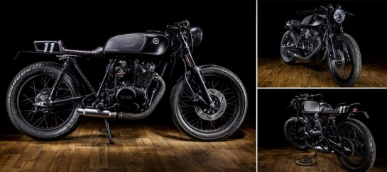 YAMAHA XS400 DARK BULLET | BY MACCO MOTORS