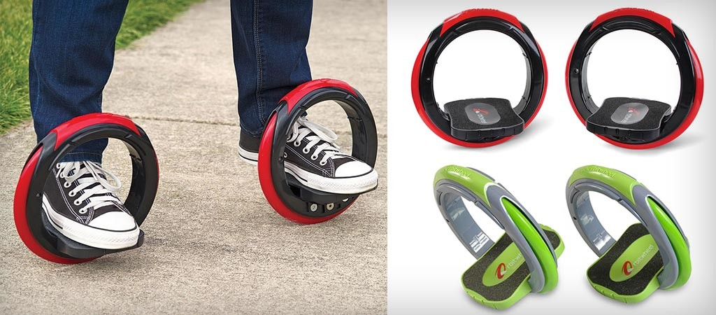 The Sidewinding Circular Skates colors and movement