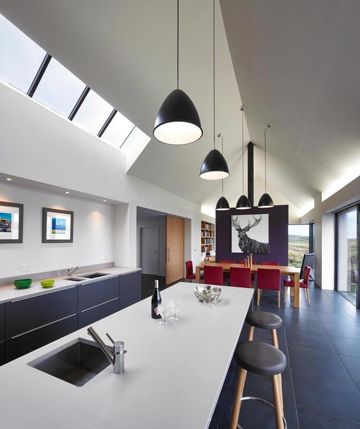 Kitchen design by Dualchas Architects