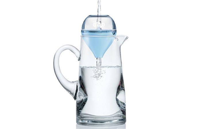 EveryDrop water filter funnel shape