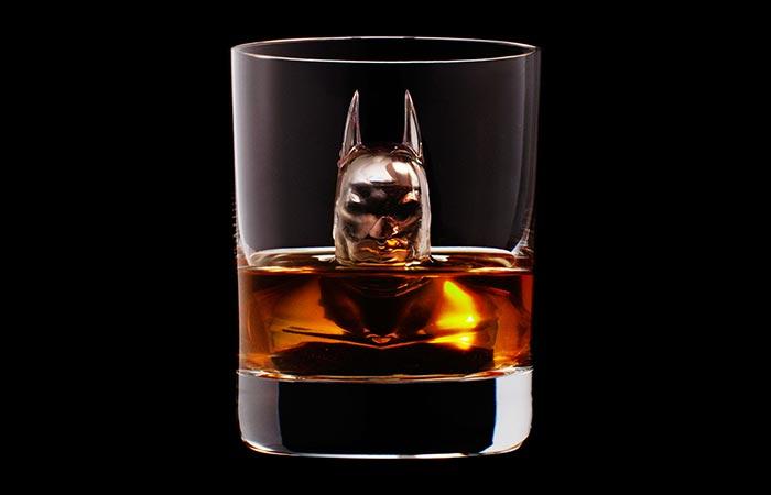 Batman ice cube