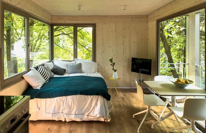 Baumraum Urban Treehouse interior