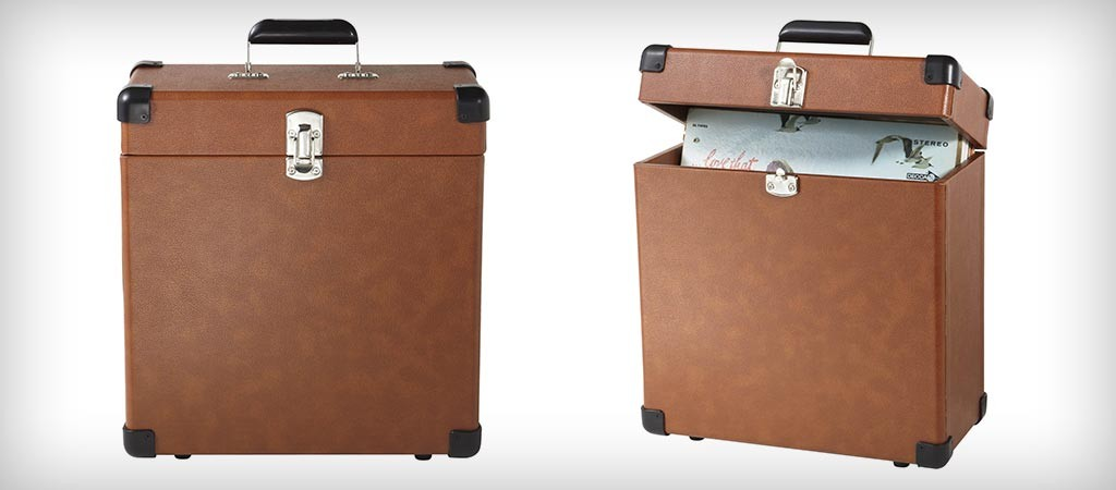 Crosley CR401-TA Record Carrier Case