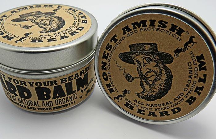 Beard Balm Natural ingredients