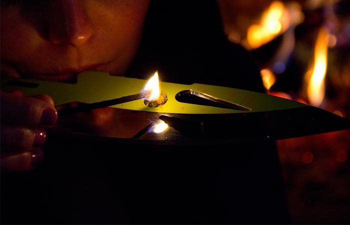 Kniper smoking pipe