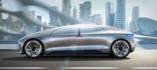 MERCEDES-BENZ F 015 SELF DRIVING CAR