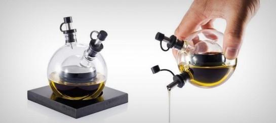 ORBIT OIL AND VINEGAR SET   BY XD DESIGN