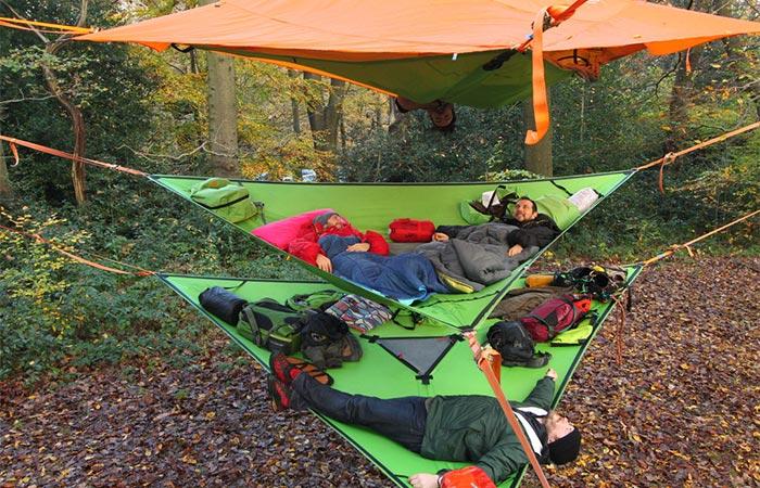 Stackable hammock