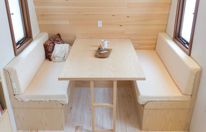 Collingwood Shepherd Hut interior