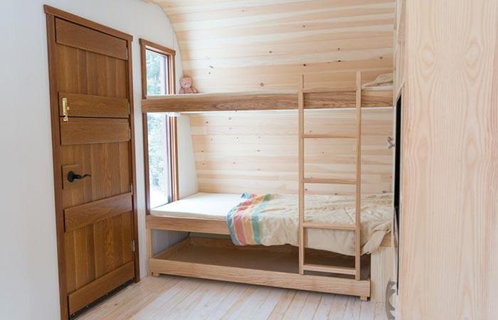 Collingwood Shepherd Hut furniture
