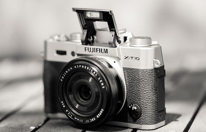 Fujifilm X-T10 retro look