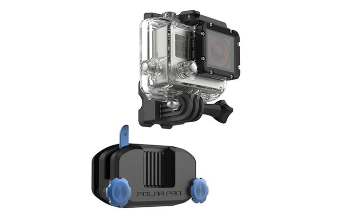 GoPro Strapmount quick-release plate