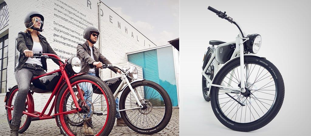Mejis Motorman Electric Moped