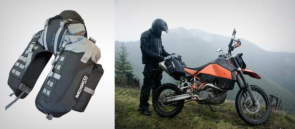 mosko reckless moto 40l system bike rokon jebiga trail awd breaker dirt