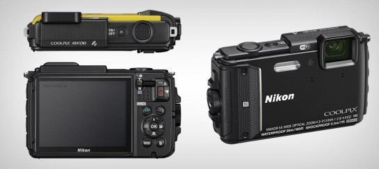 NIKON COOLPIX AW130 WATERPROOF AND SHOCKPROOF CAMERA
