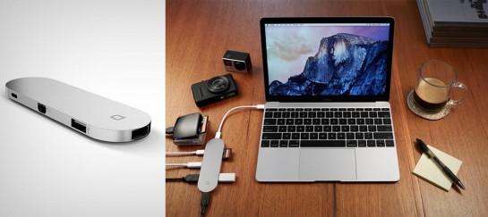 NONDA HUB+ | SMART USB STATION FOR MACBOOKS