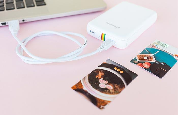 Polaroid Zip charging