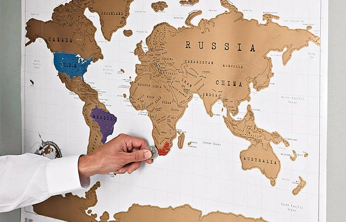 Original Us Map Globalinterco - Scratch us map