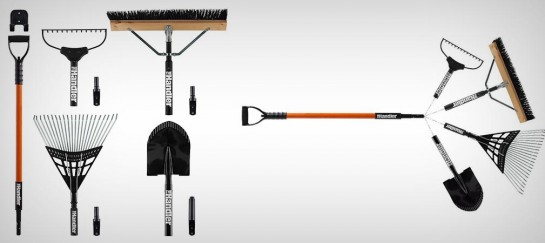 THE HANDLER | 5-PIECE YARD TOOL SYSTEM