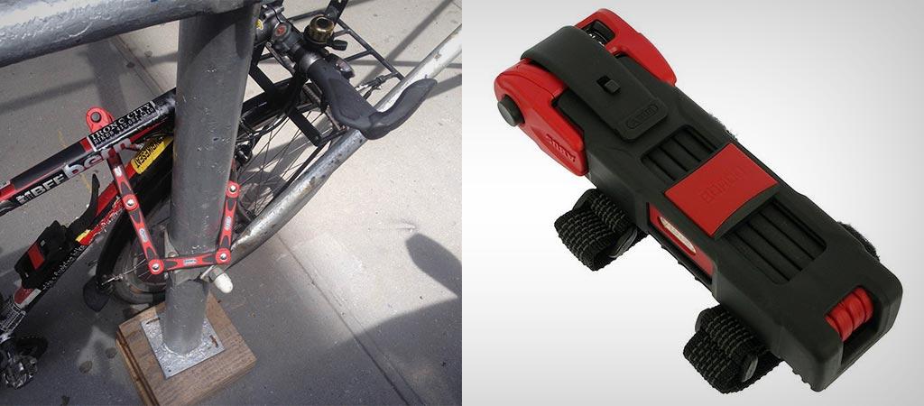 ABUS Bordo Combo 6100 | Folding Bike Lock