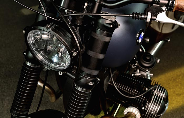 BMW R69S Thompson headlights