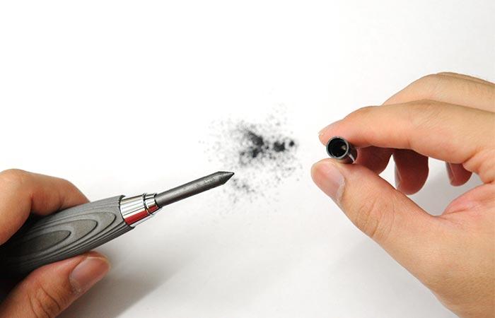 Concrete Sketch Pencil sharpener