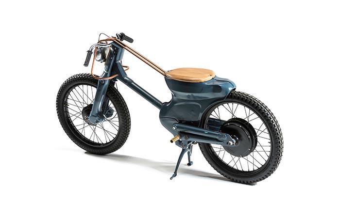 Deus Electric Motorcycle engine