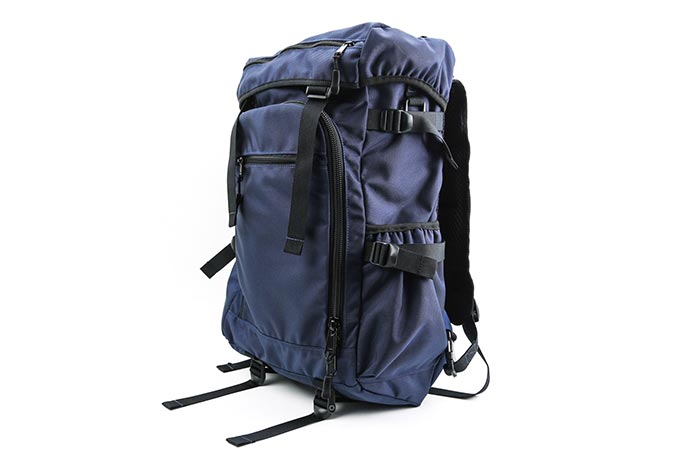 DSPTCH Ruckpack materials