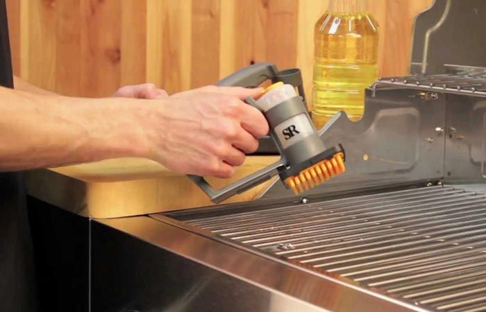 Grill Grate Oiler safety