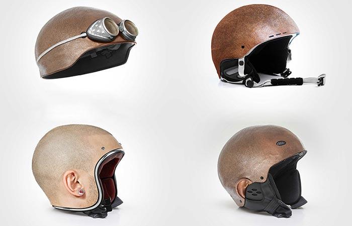 Human Head Helmets 4 models