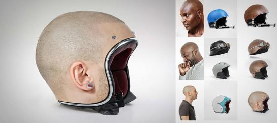 HUMAN HEAD HELMETS | BY JYO JOHN MULLOOR