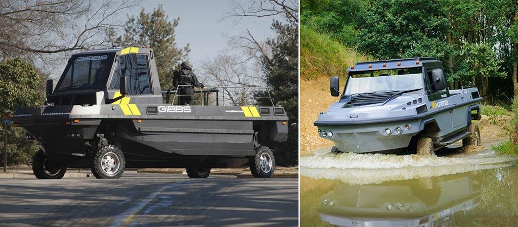 Humdinga and Phibian | Amphibious vehicles