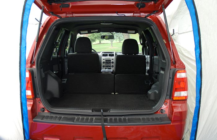 SportZ 82000 SUV Tent increased space