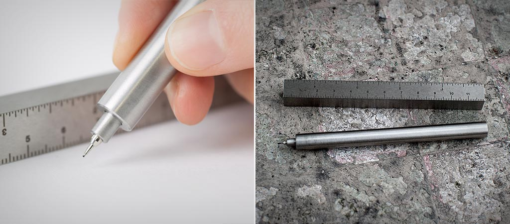 Pen Type A | Solid Steel Pen