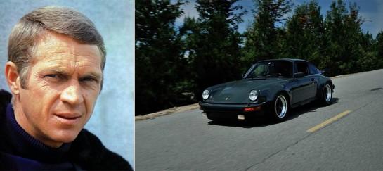 STEVE MCQUEEN'S PORSCHE 911 TURBO