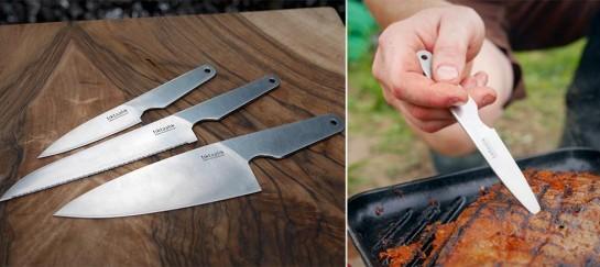 THE FIELD KNIFE SET BY TIKTAALIK