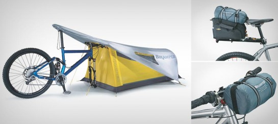 TOPEAK BIKAMPER TENT | TENT FOR CYCLISTS